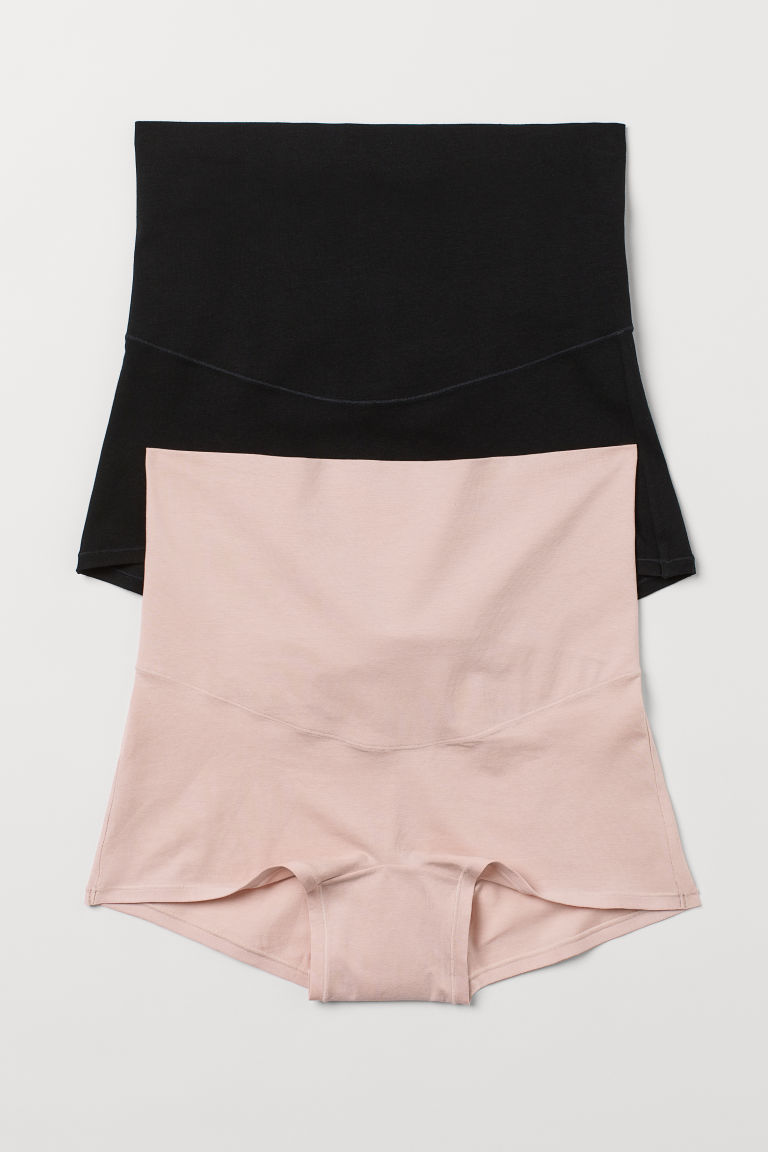H & M - MAMA Shortie 2件入內褲 - 橙色