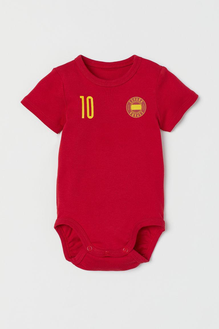 H & M - 足球連身衣 - 紅色