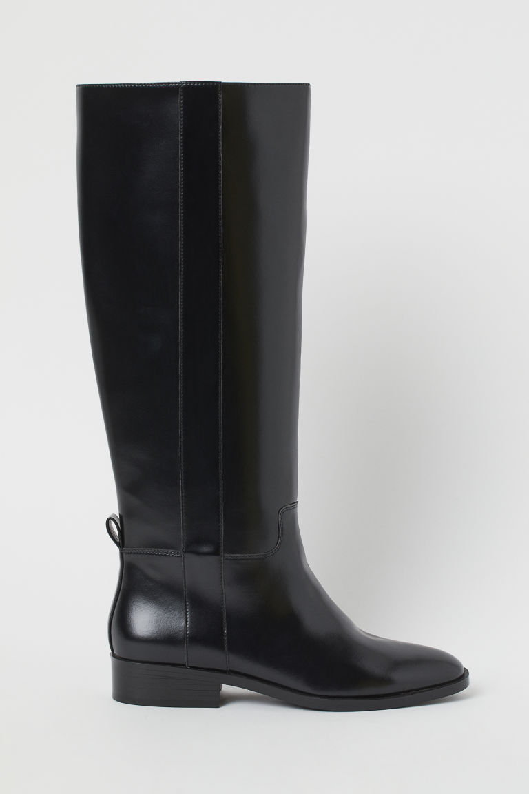 H & M - 長筒靴 - 黑色