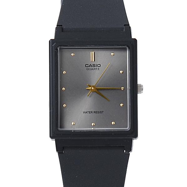 CASIO卡西歐方形質感灰面膠錶【NEC37】