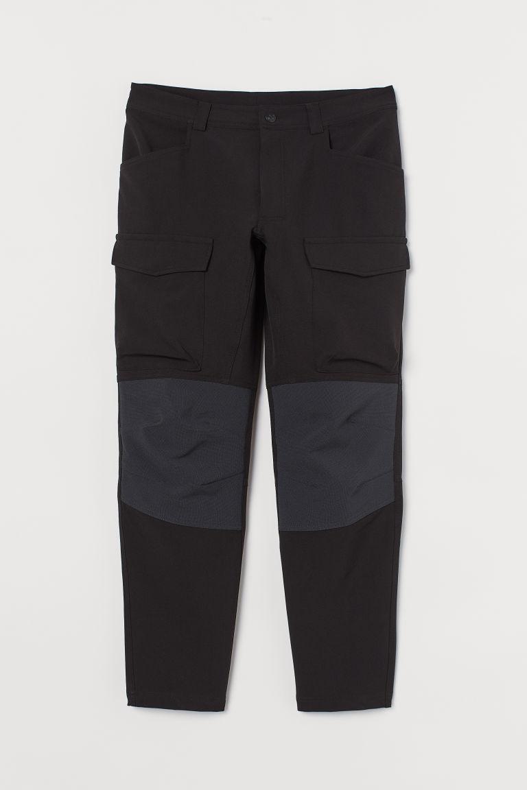 H & M - 戶外運動長褲 - 黑色
