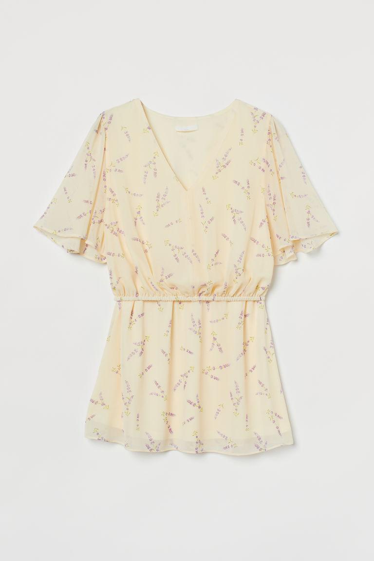 H & M - MAMA 哺乳女衫 - 米黃色