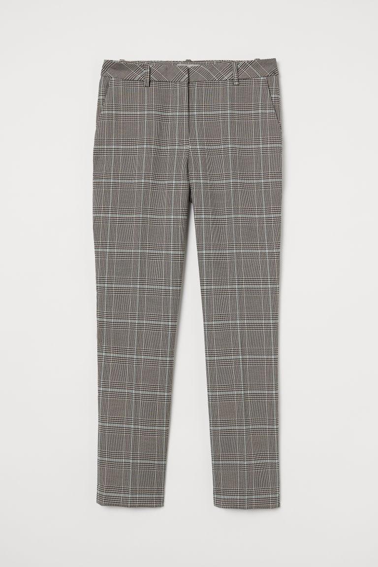 H & M - 西裝褲 - 灰色