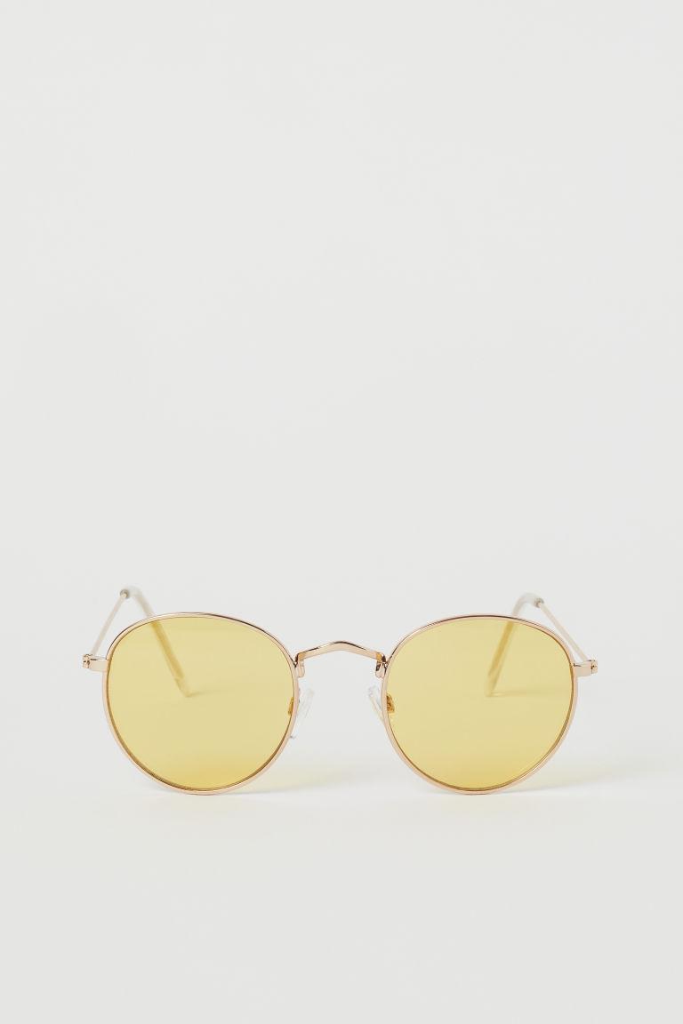 H & M - 太陽眼鏡 - 金色