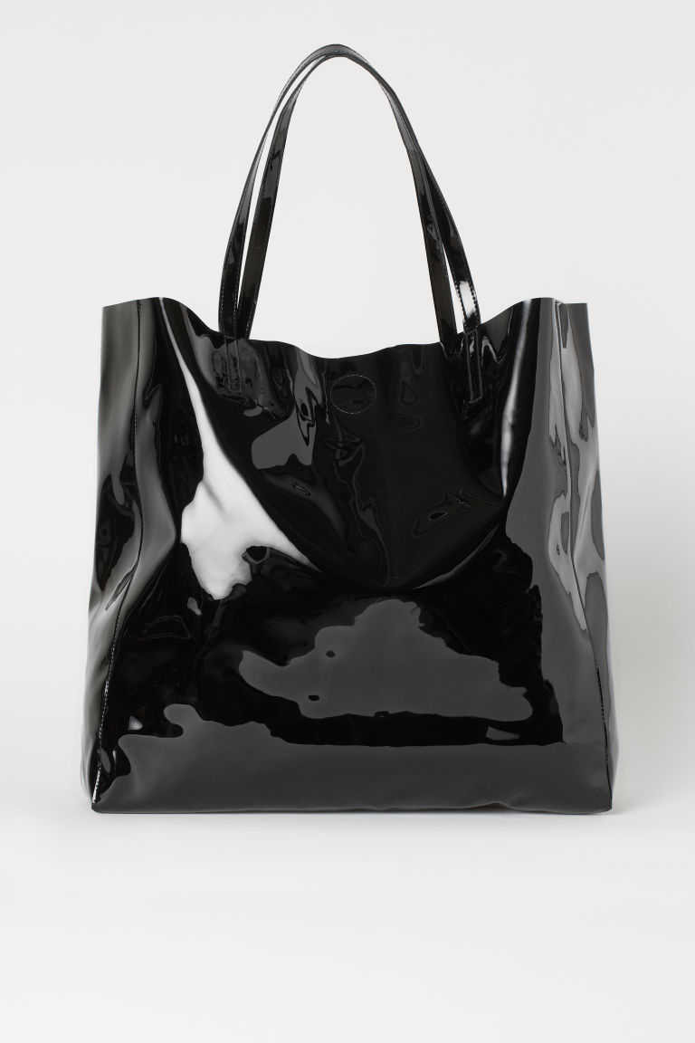 H & M - 大購物包 - 黑色