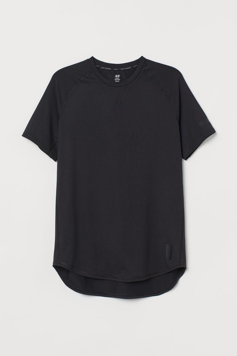 H & M - 寬鬆運動上衣 - 黑色