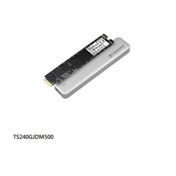 新風尚潮流 【TS240GJDM500】 創見 SSD 固態硬碟 240GB 更換 APPLE 專屬套件組 兩年保固 MLC MacBook Pro