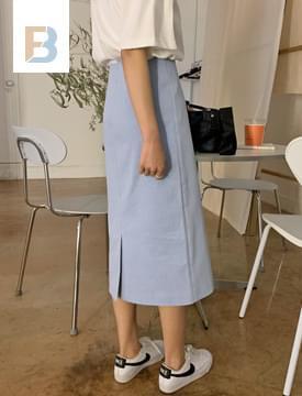 韓國空運 - Mini Dot H Line Skirt 裙子