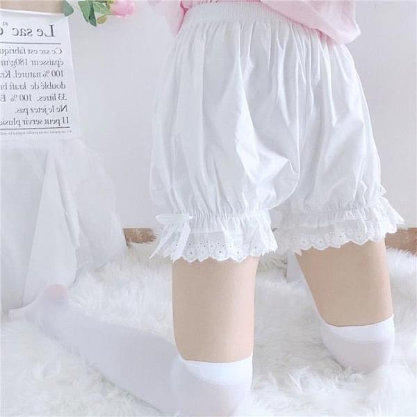 安全褲 jk打底褲防走光南瓜短褲女寬鬆日系新款學生休閑熱褲內搭安全褲子