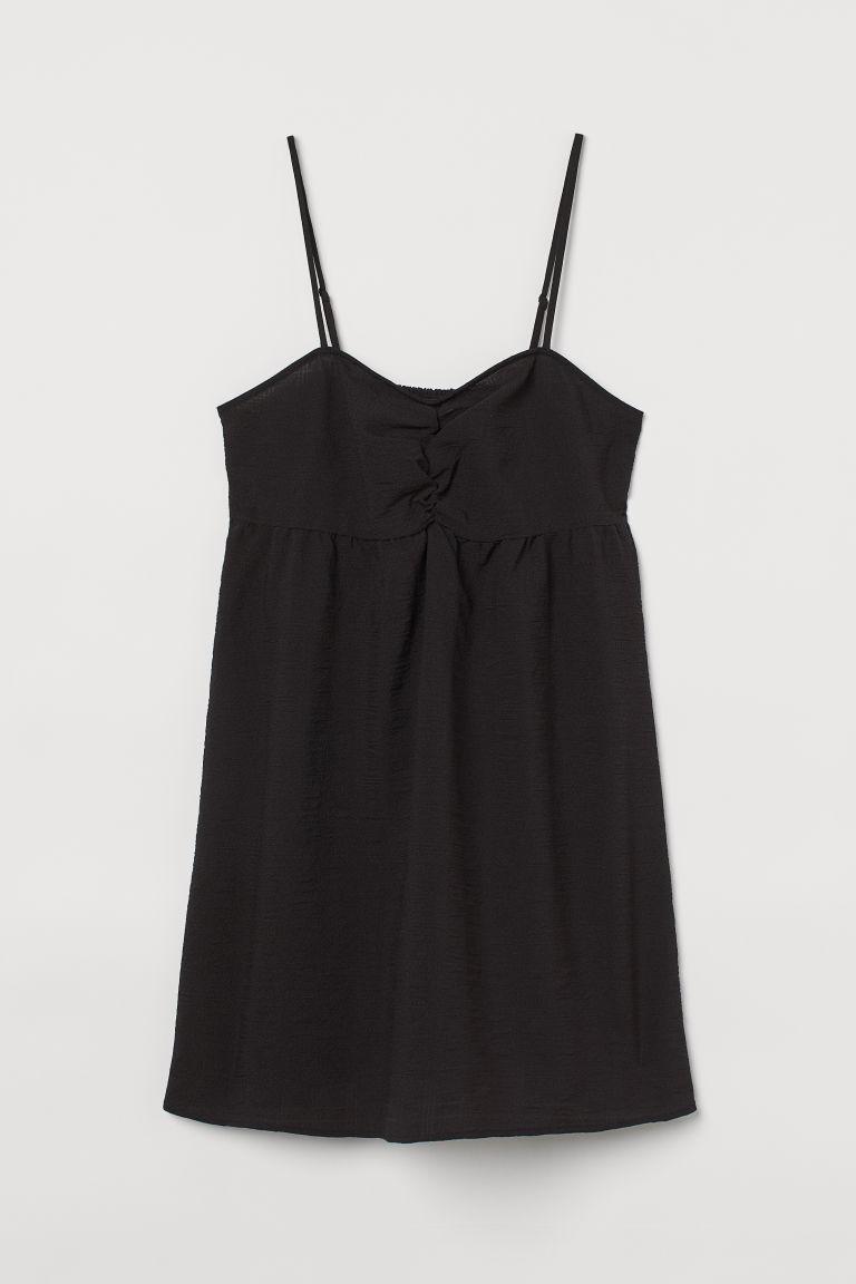 H & M - H & M+ 短洋裝 - 黑色