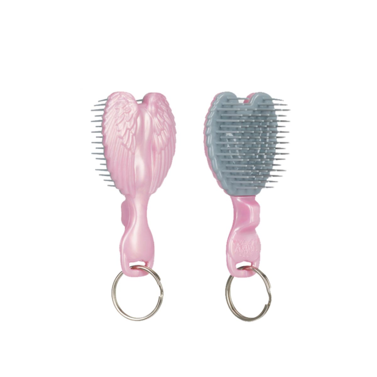 【新品上市】Tangle Angel 瀏海乖乖梳(粉色) Key Ring Pink