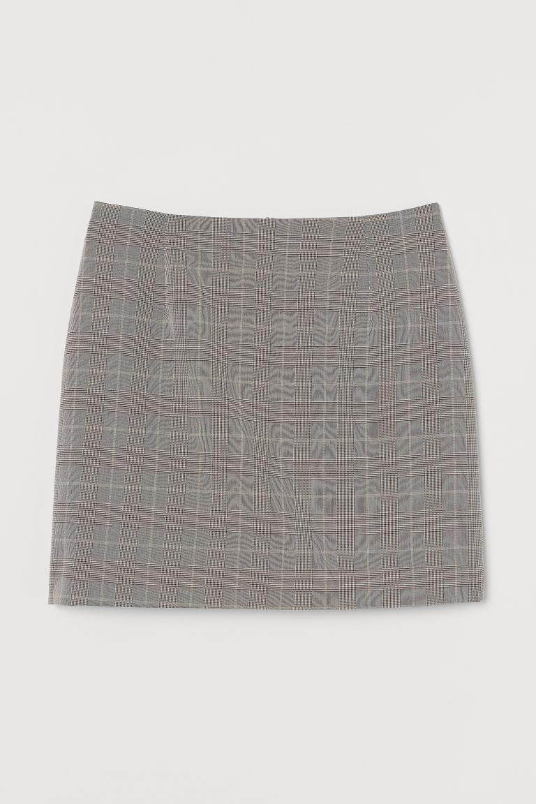 H & M - 短裙 - 褐色