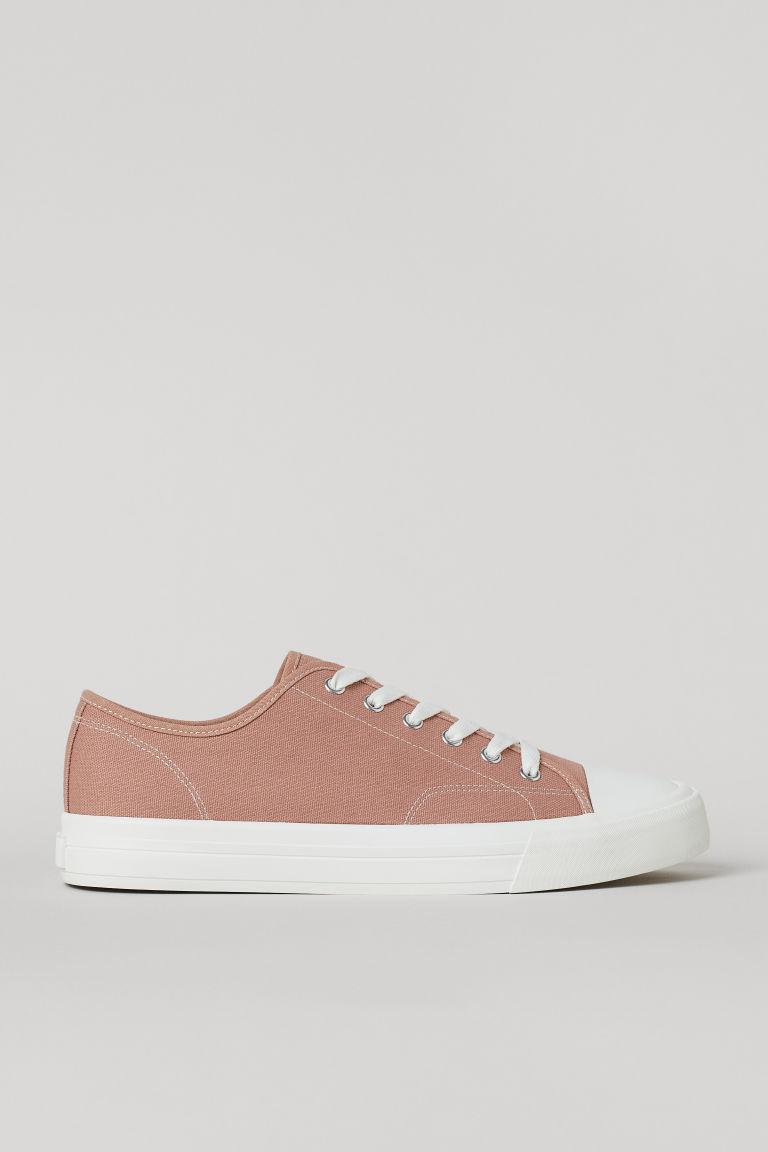 H & M - 帆布鞋 - 橙色