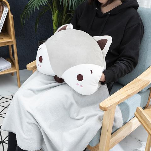 森林好朋友-巧巧狐暖手抱枕