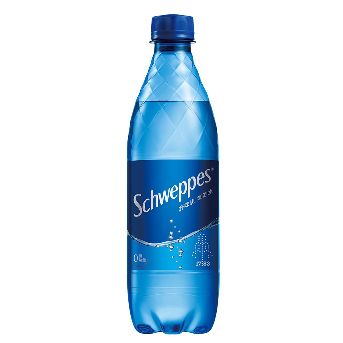Schweppes舒味思氣泡水500ml 【康是美】