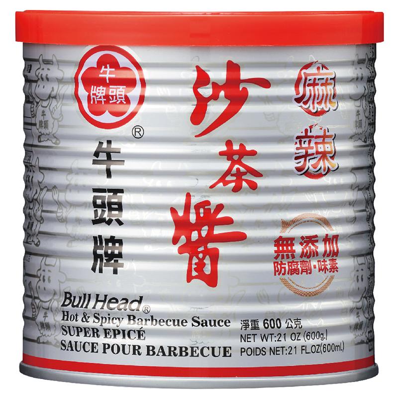 牛頭牌麻辣沙茶醬 600g