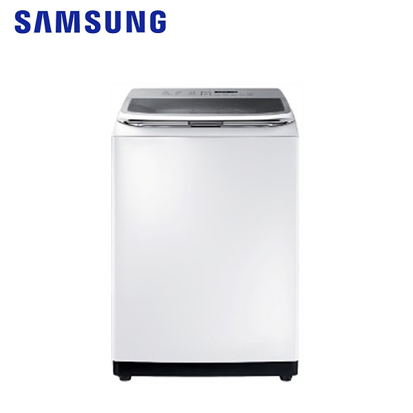 【SAMSUNG三星】18KG變頻智慧觸控洗衣機WA18R8100GW