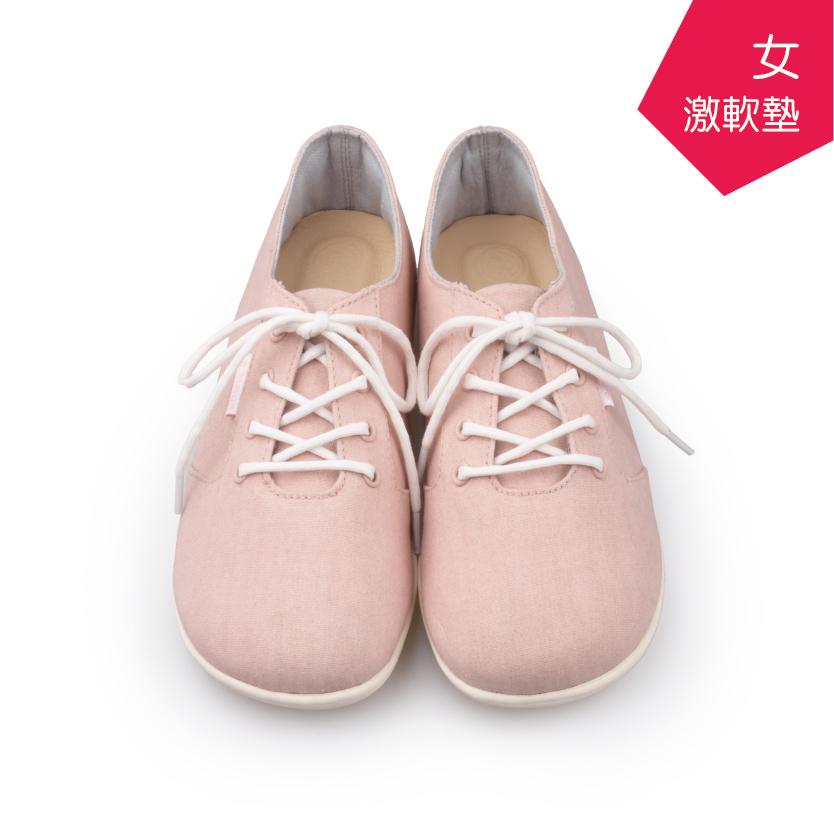 【A.MOUR 經典手工鞋】特色饅頭鞋 - 粉(2750)