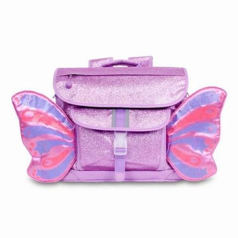 美國Bixbee 飛飛童趣系列—粉紫閃閃蝴蝶中童背包