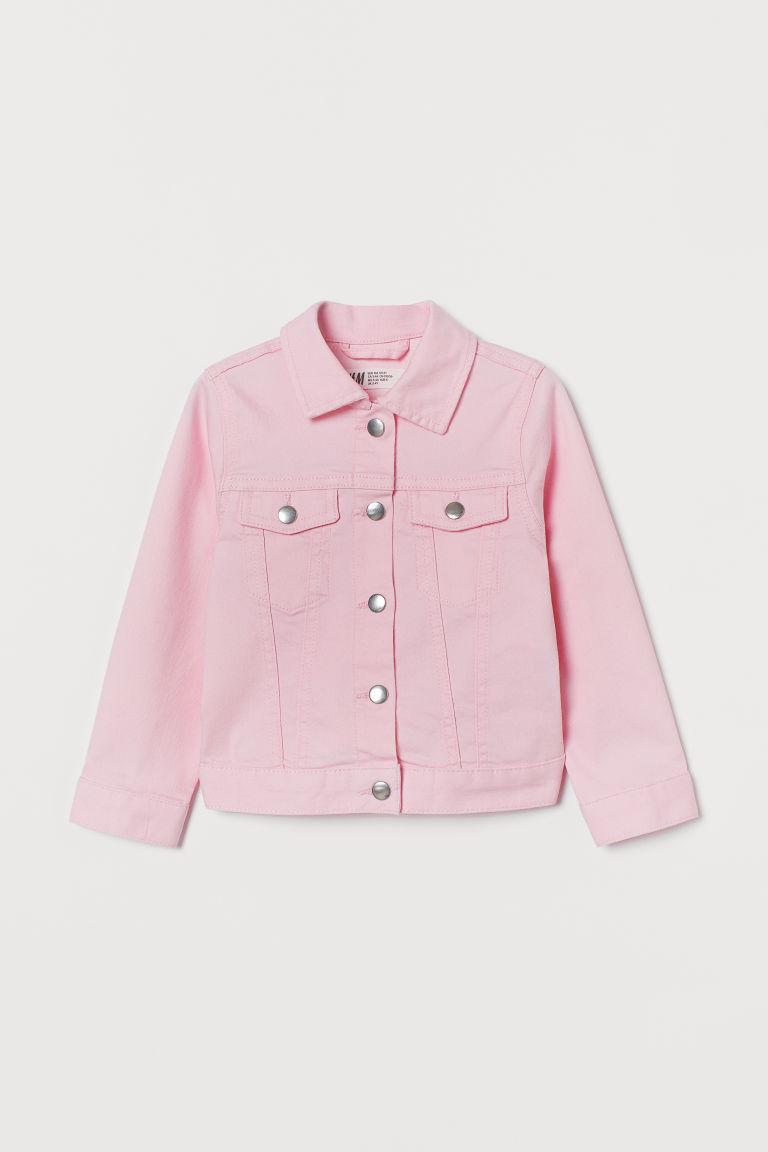 H & M - 斜紋外套 - 粉紅色