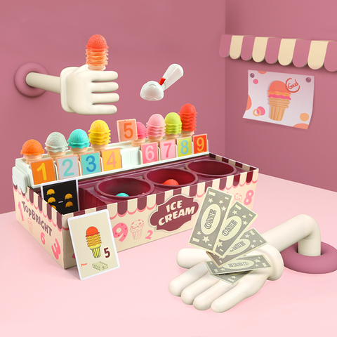 芬蘭Top Bright 數字加減冰淇淋遊戲組