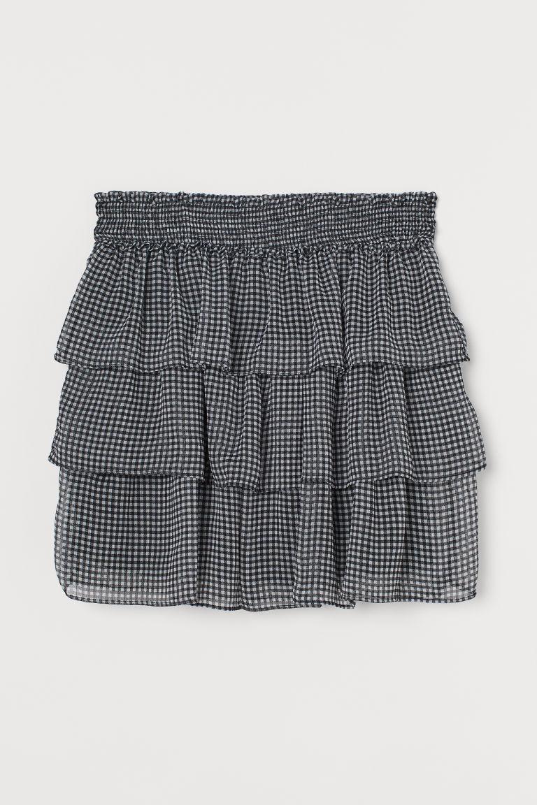 H & M - 蛋糕裙 - 黑色