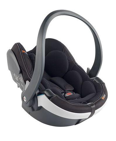 BeSafe-iZi Go Modular模組化兒童汽座提籃-極光黑(白飾邊)