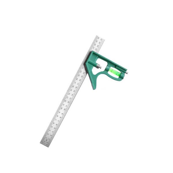 組合角尺  多功能組合30cm角尺 不鏽鋼水平尺 直角尺 45度三角尺  木工測量工具