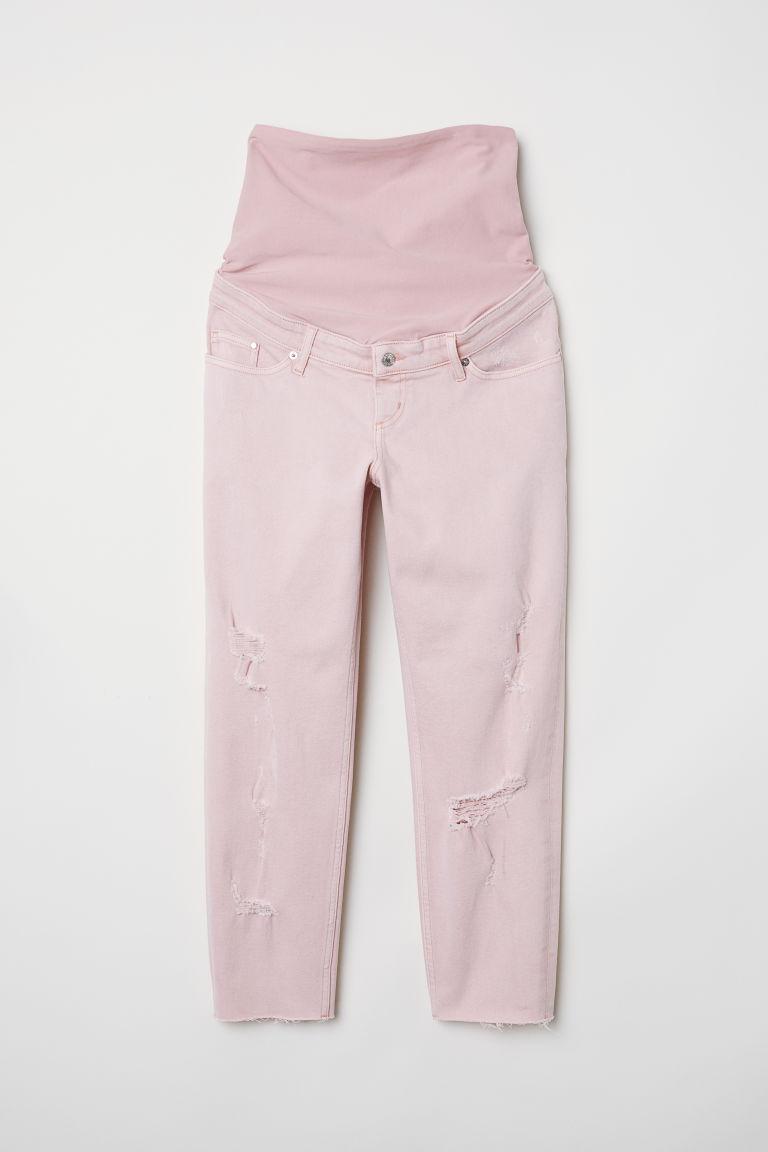 H & M - MAMA 男友牛仔褲 - 橙色