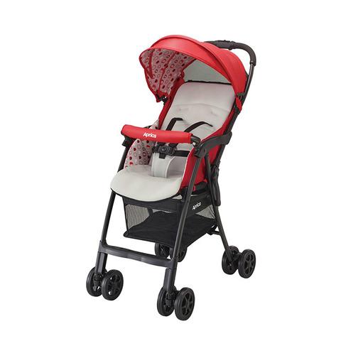 Aprica 愛普力卡Magical air Plus超輕量單向嬰幼兒手推車(蘋果紅RD)