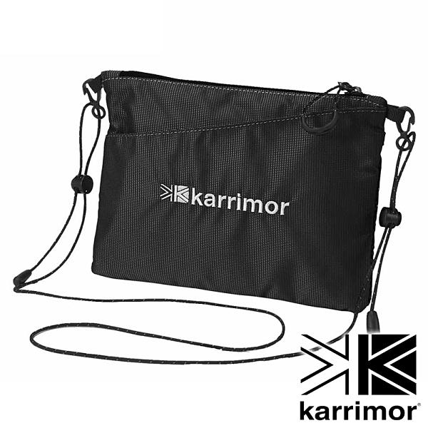 【karrimor】Dual sacoche 斜背包 1.2L『黑』53619DS 戶外 休閒 運動 露營 登山 背包 腰包 收納包