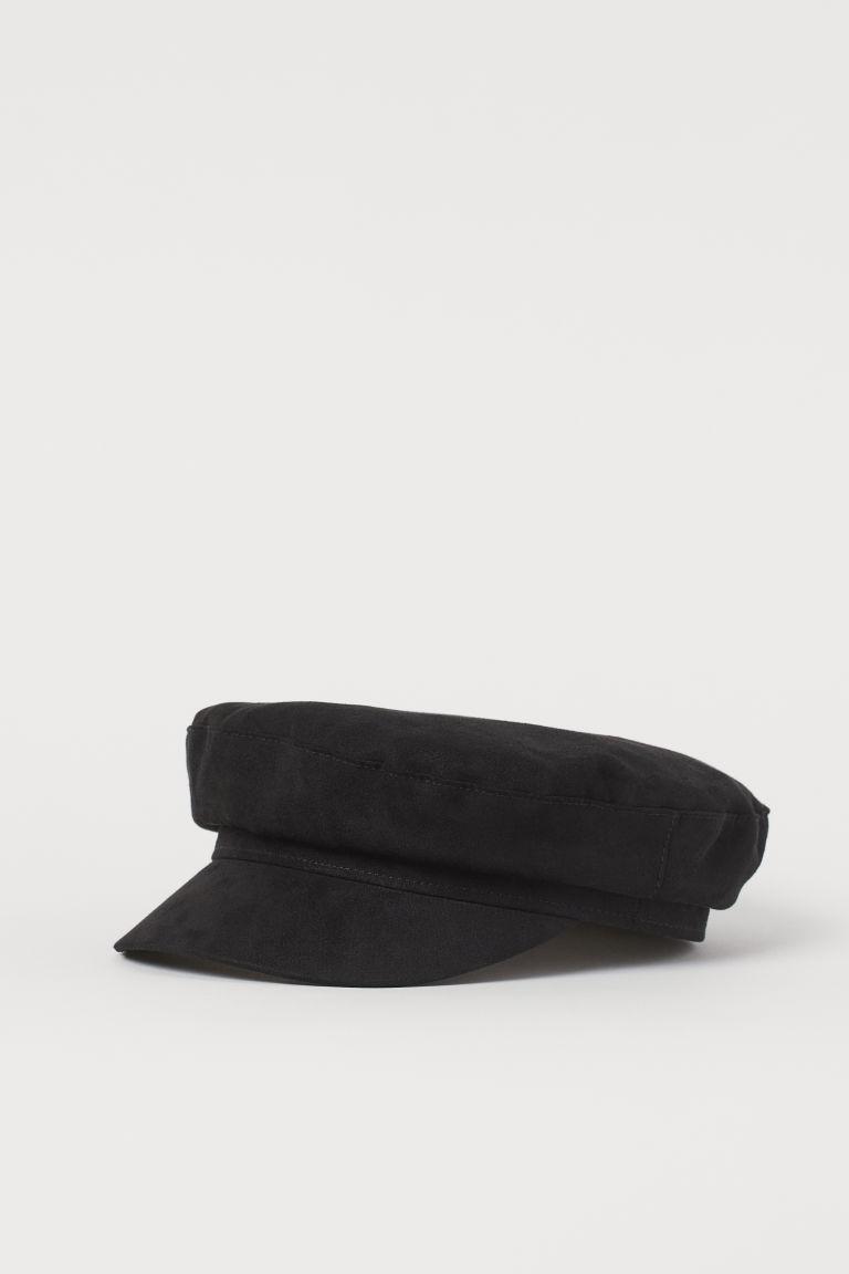 H & M - 軍帽 - 黑色