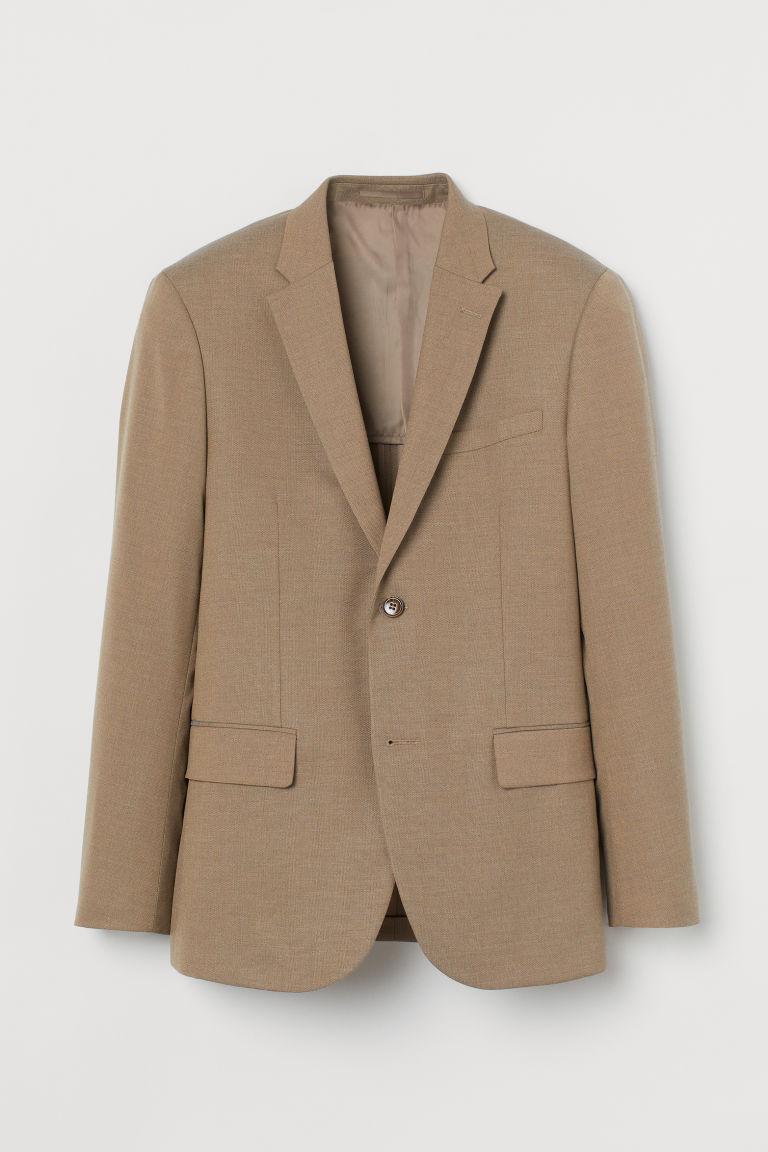 H & M - 貼身外套 - 米黃色