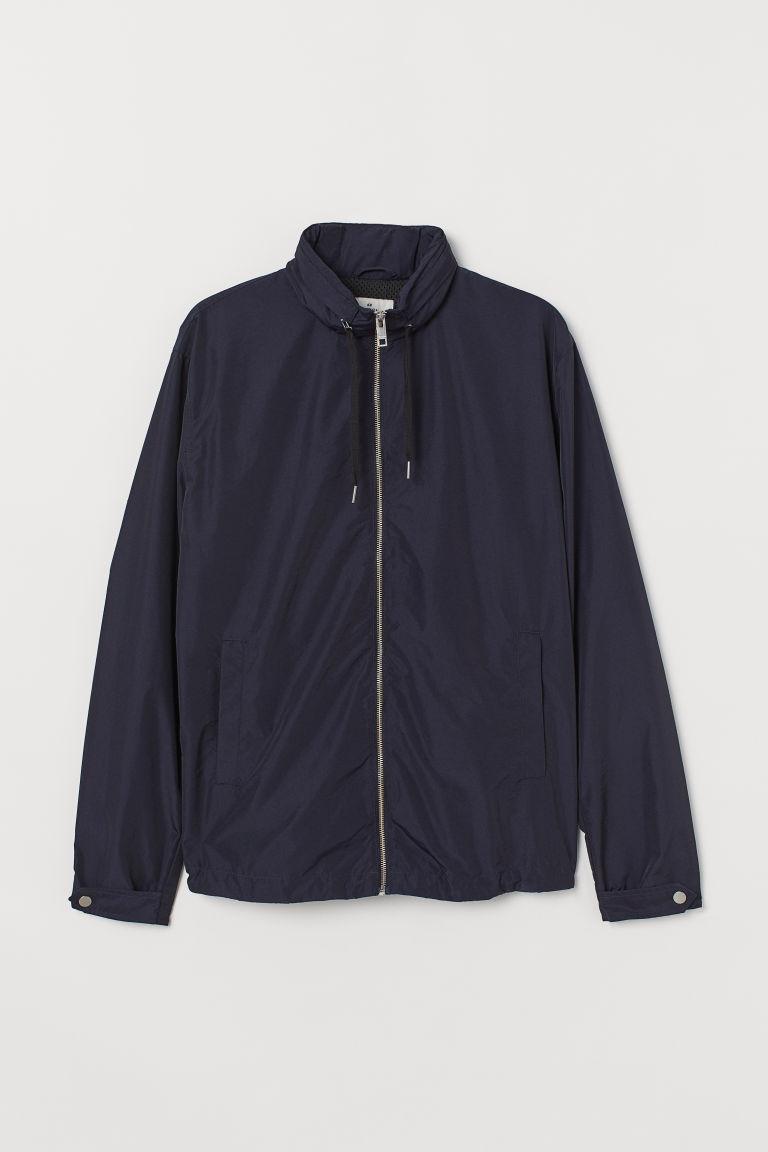 H & M - 風衣 - 藍色