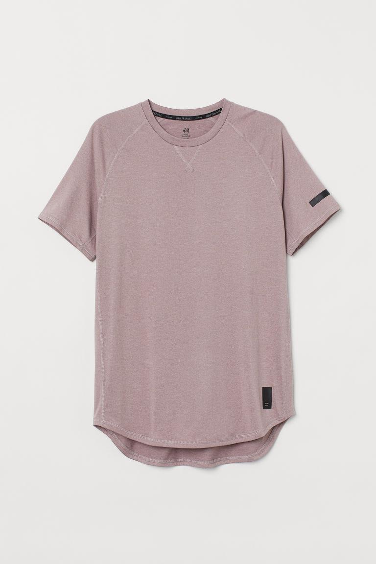 H & M - 寬鬆運動上衣 - 粉紅色