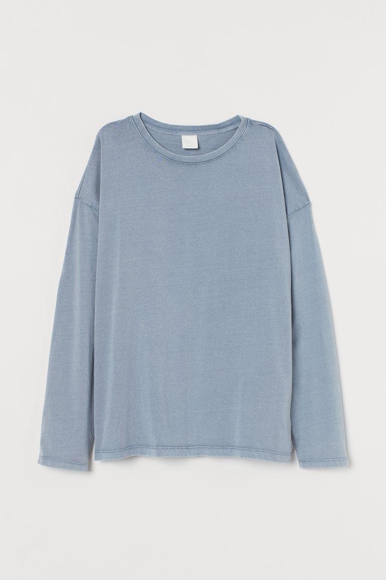 H & M - 長袖上衣 - 灰色