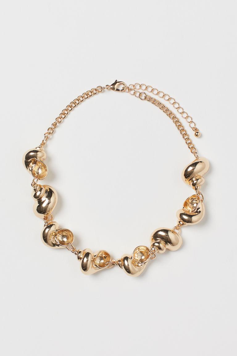 H & M - 項鍊 - 金色