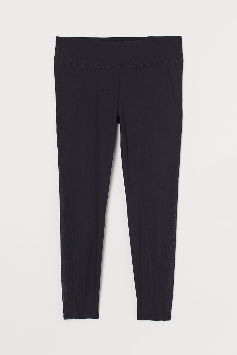 H & M - H & M+ 美臀緊身褲 - 黑色