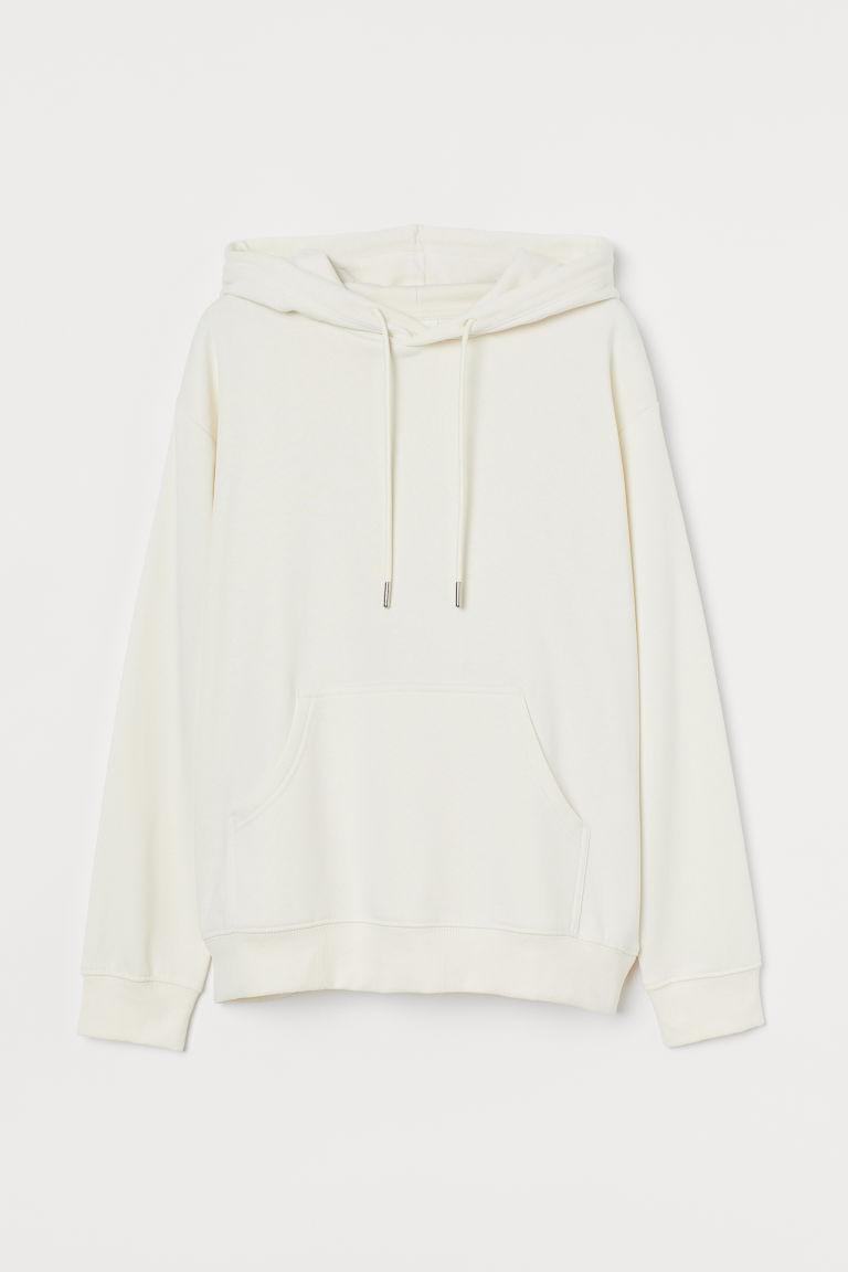 H & M - 連帽上衣 - 白色