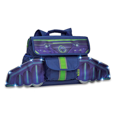 美國Bixbee 飛飛童趣LED系列—太空競遊小童背包