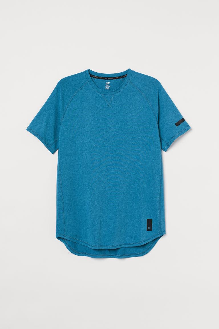 H & M - 寬鬆運動上衣 - 藍色