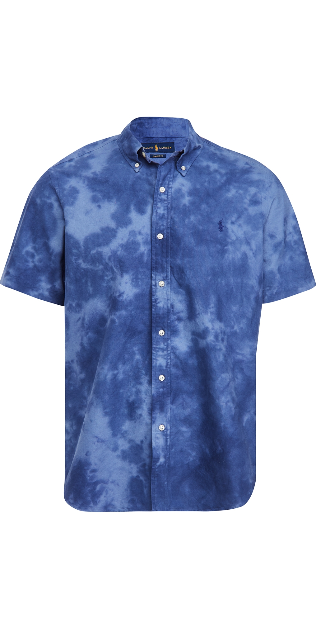 Polo Ralph Lauren Tie Dye Short Sleeve Oxford Shirt