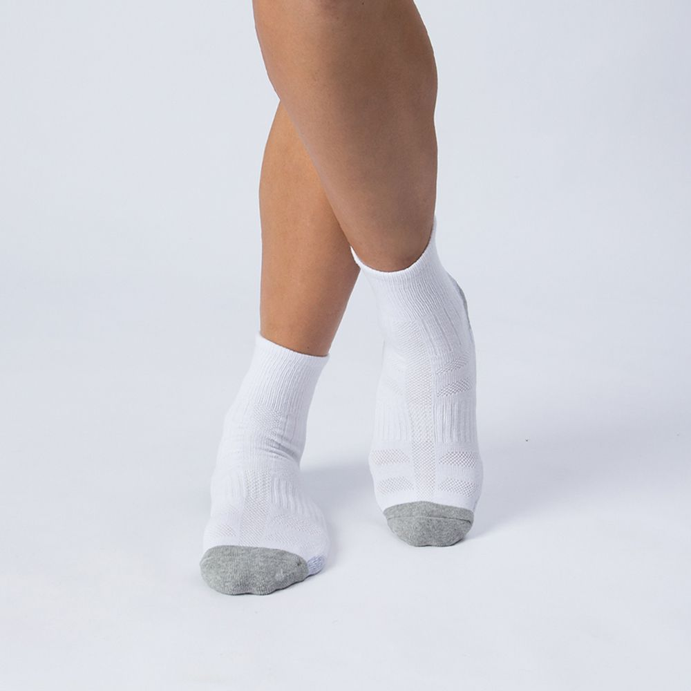 弧型運動襪-白色 (商品編號:S0101115)