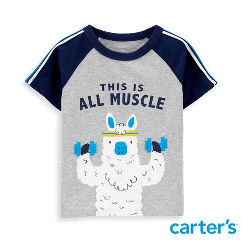 carter's 健美羊駝短袖上衣  (2T-5T)