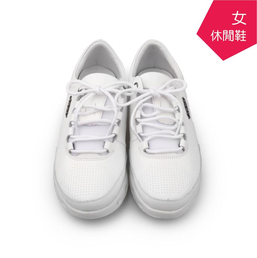 【A.MOUR 經典手工鞋】舒適休閒鞋 - 白(7121)