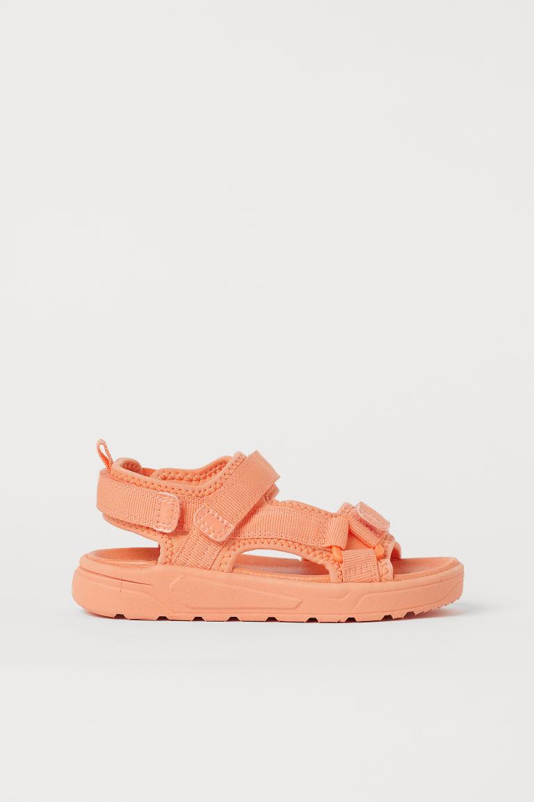 H & M - 圖案涼鞋 - 橙色