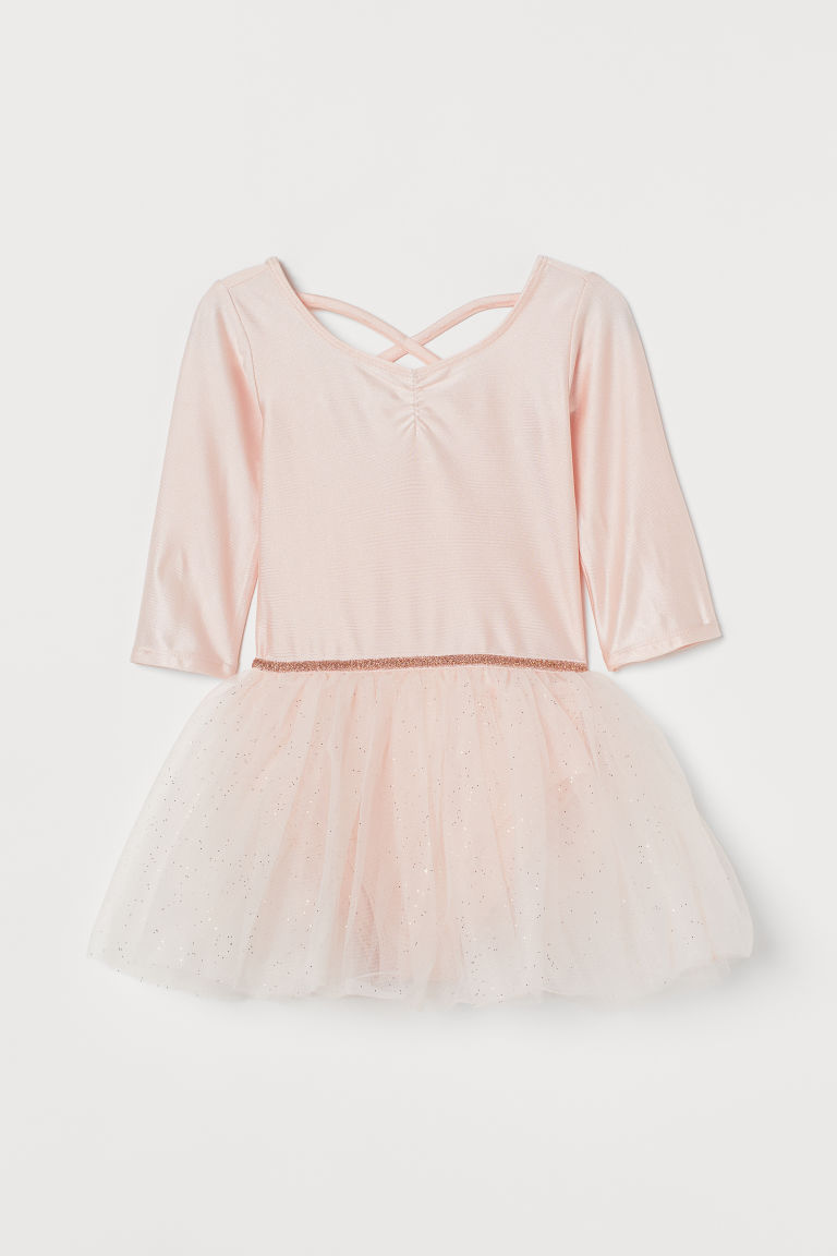 H & M - 薄紗裙舞蹈洋裝 - 粉紅色