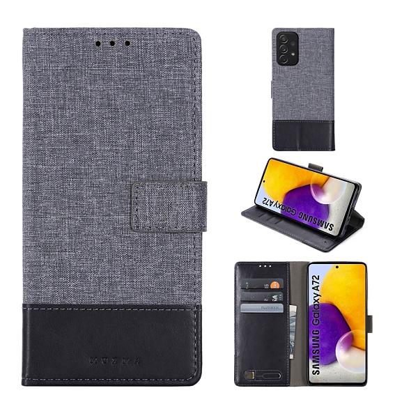 三星 Galaxy A72 A32 5G 掀蓋磁扣 手機套 手機殼 皮夾手機套 側翻可立 外磁扣皮套 保護套 翻蓋皮套