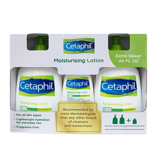 Cetaphil 舒特膚 溫和乳液20oz X2+4oz X1