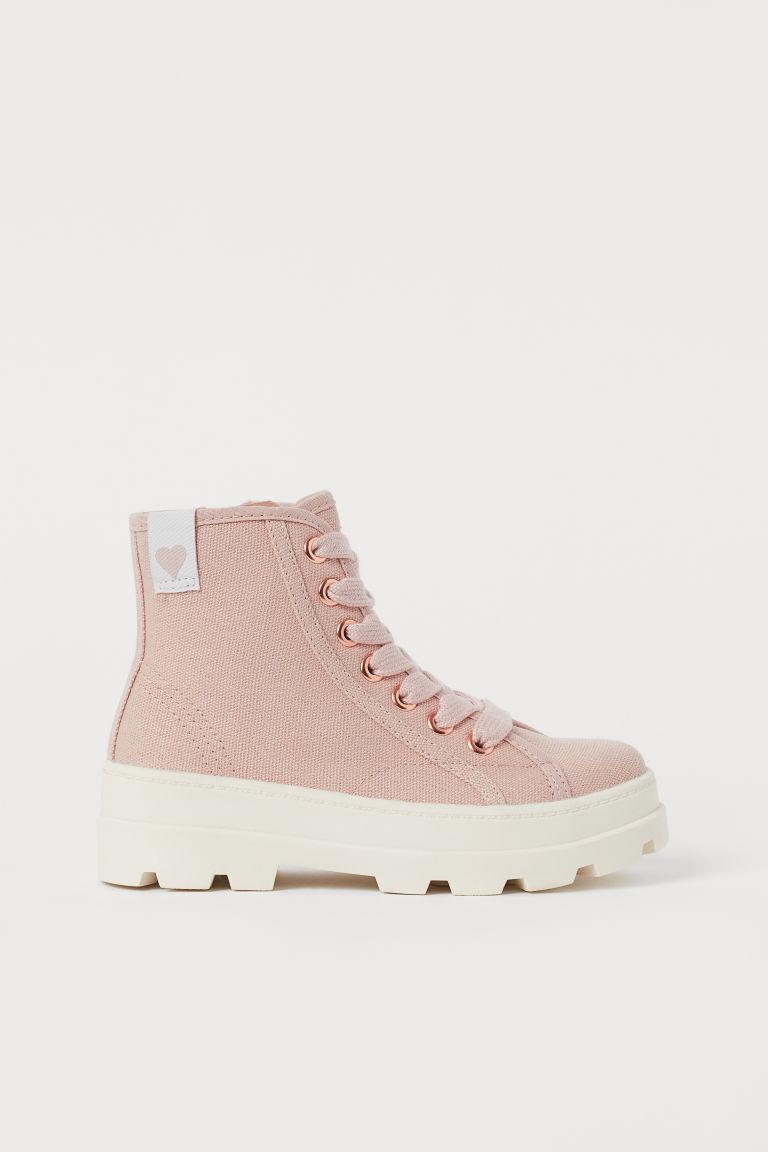 H & M - 靴子 - 橙色